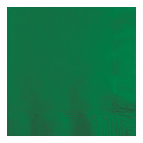 Creative Converting Emerald Green - Napkins, Beverage 50ct