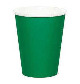 Creative Converting Emerald Green - Cups, 9oz Paper 24ct
