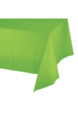 Creative Converting Fresh Lime - Tablecover, 54x108 Plastic