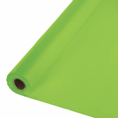 Creative Converting Fresh Lime - Table Roll, 100' Plastic