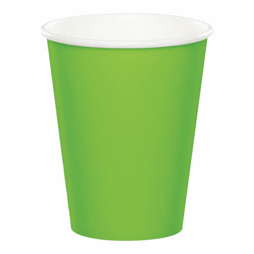 Creative Converting Fresh Lime - Cups, 9oz Paper 24ct