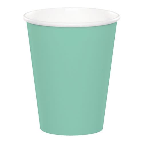 Creative Converting Fresh Mint - Cups, 9oz Paper 24ct