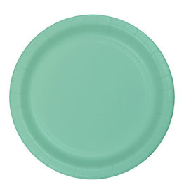 "Creative Converting Fresh Mint - Plates, 10"" Round Paper"