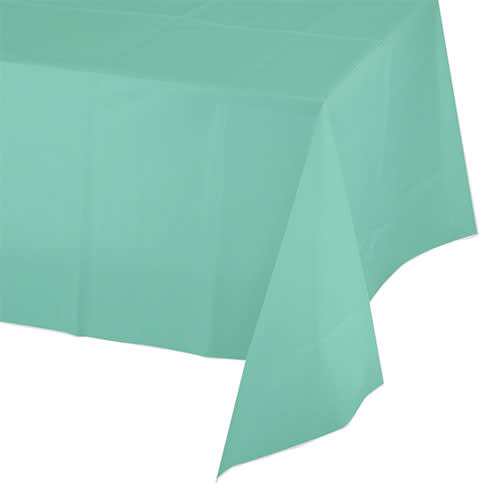 Creative Converting Fresh Mint - Tablecover, 54x108