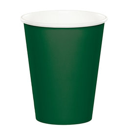 Creative Converting Hunter Green - Cups, 9oz Paper 24ct
