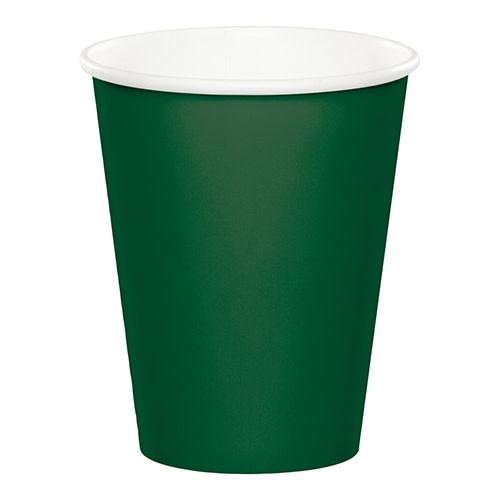 Creative Converting Hunter Green - Cups, 9oz Paper 24ct