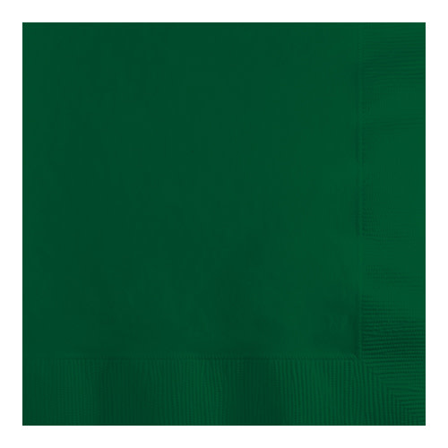 Creative Converting Hunter Green - Napkins, Beverage 50ct