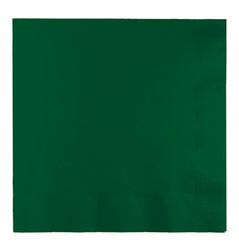 Creative Converting Hunter Green - Napkins, Luncheon 50ct
