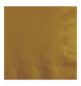Creative Converting Glittering Gold - Napkins, Beverage 50ct