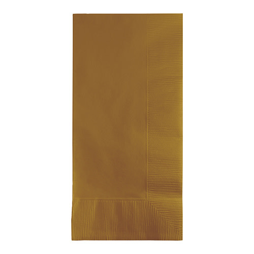 Creative Converting Glittering Gold - Napkins, Dinner 50ct