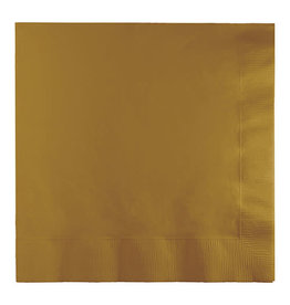 Creative Converting Glittering Gold - Napkins, Luncheon 50ct