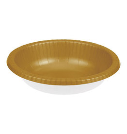 Creative Converting Glittering Gold - Bowls, Paper 20ct