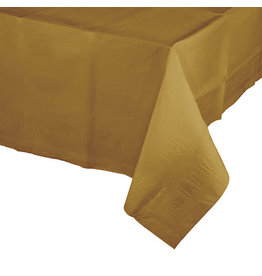 Creative Converting Glittering Gold - Tablecover, 54x108 Paper