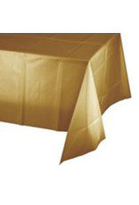 Creative Converting Glittering Gold - Tablecover, 54x108 Plastic