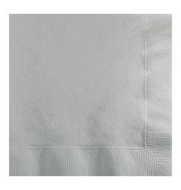 Creative Converting Shimmering Silver - Napkins, Beverage 50ct
