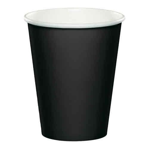 Creative Converting Black Velvet - Cups, 9oz Paper 24ct
