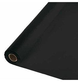 Creative Converting Black Velvet - Table Roll, 100' Plastic