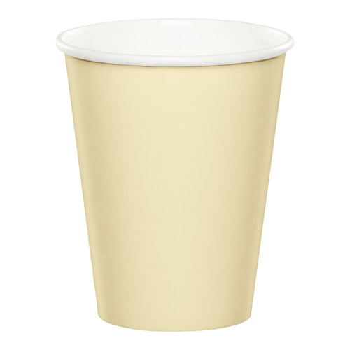 Creative Converting Ivory - Cups, 9oz Paper 24ct