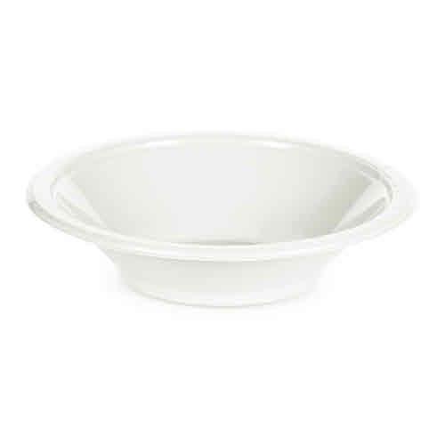 Creative Converting White - Bowls, 12oz Plastic 20ct