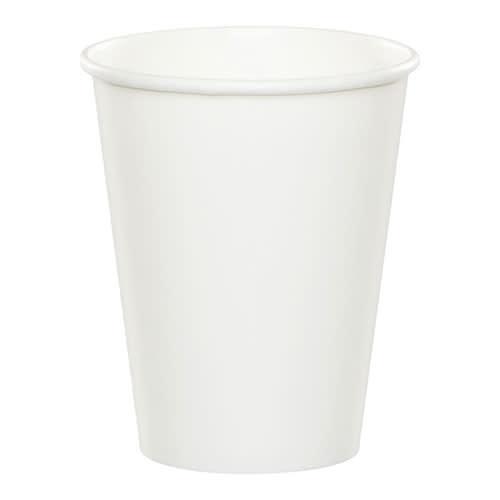 Creative Converting White - Cups, 9oz Paper 24ct