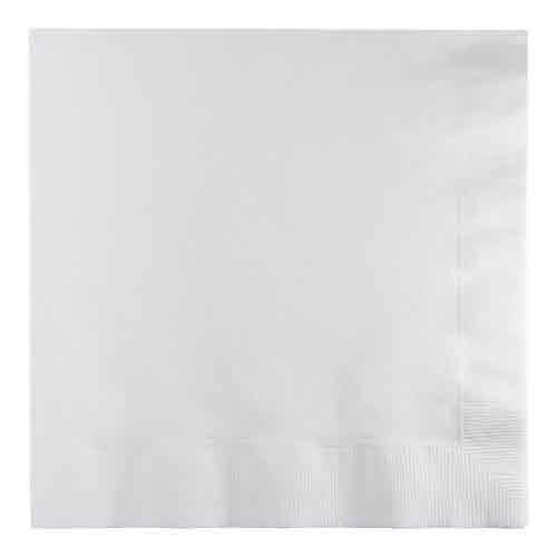 Creative Converting White - Napkins, Luncheon 50ct