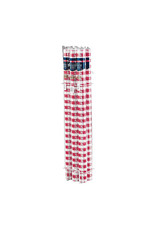 Creative Converting Red Gingham - Table Roll, 100' Plastic