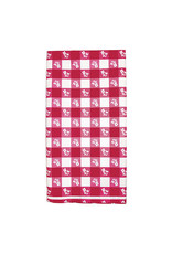 Creative Converting Red Gingham - Tablecover, 54x108