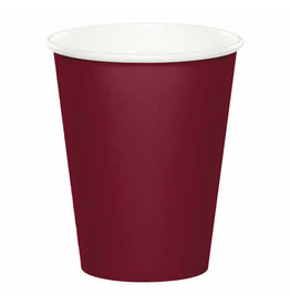 Creative Converting Burgundy - Cups, 9oz Paper 24ct