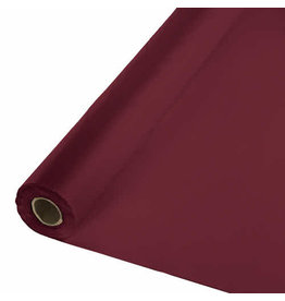 Creative Converting Burgundy - Table Roll, 100' Plastic
