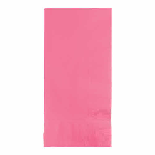 Creative Converting Candy Pink - Napkins, Dinner 50ct