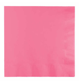 Creative Converting Candy Pink - Napkins, Luncheon 50ct