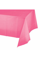 Creative Converting Candy Pink - Tablecover, 54x108 Plastic