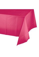 Creative Converting Hot Magenta - Tablecover, 54x108 Plastic