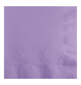 Creative Converting Luscious Lavender - Napkins, Beverage 50ct
