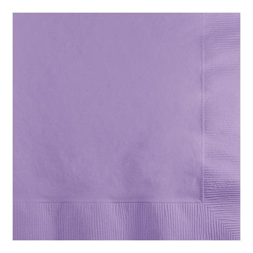Creative Converting Luscious Lavender - Napkins, Beverage 50ct