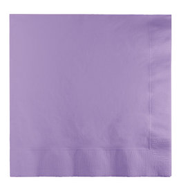 Creative Converting Luscious Lavender - Napkins, Luncheon 50ct