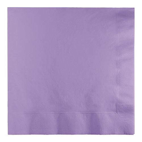 Creative Converting Luscious Lavender - Napkins, Luncheon 50ct