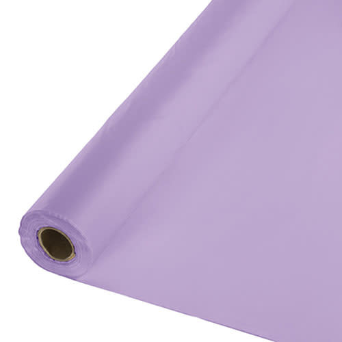 Creative Converting Luscious Lavender - Table Roll, 100' Plastic