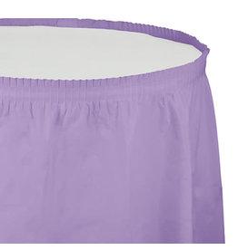 Creative Converting Luscious Lavender - Tableskirt, 14' Plastic