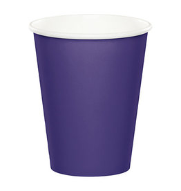 Creative Converting Purple - Cups, 9oz Paper 24ct