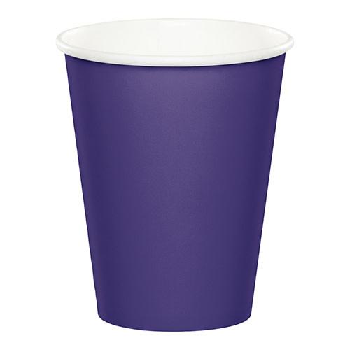 Creative Converting Purple - Cups, 9oz Paper 24ct