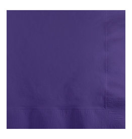 Creative Converting Purple - Napkins, Beverage 50ct