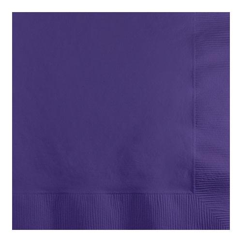 Creative Converting Purple - Napkins, Beverage 50ct
