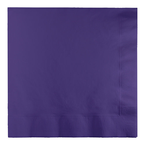 Creative Converting Purple - Napkins, Luncheon 50ct