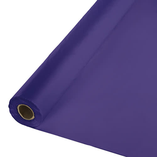 Creative Converting Purple - Table Roll, 100' Plastic