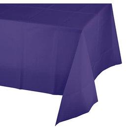 Creative Converting Purple - Tablecover, 54x108 Plastic