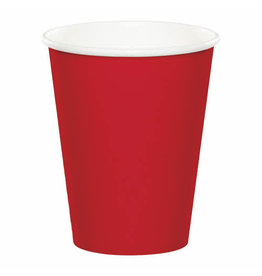 Creative Converting Classic Red - Cups, 9oz Paper 24ct