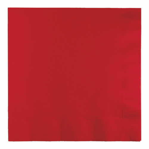 Creative Converting Classic Red - Napkins, Luncheon 50ct