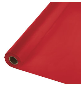 Creative Converting Classic Red - Table Roll, 100' Plastic