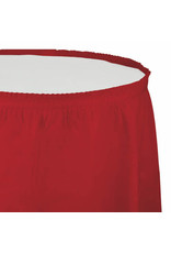 Creative Converting Classic Red - Tableskirt, 14'